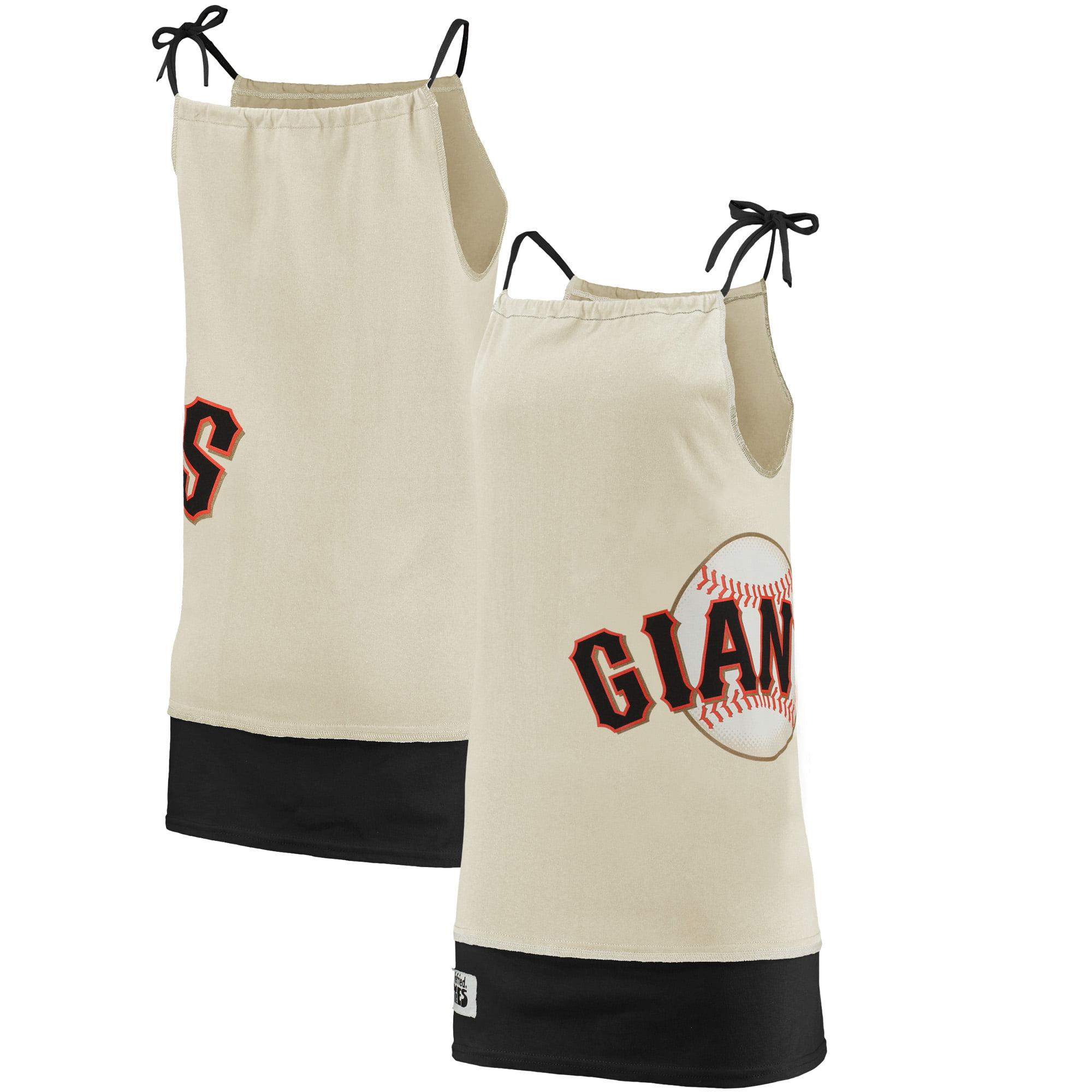 San Francisco Giants Refried Tees Women's Tee-Tank Dress - Cream