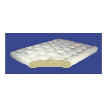 4 Inch All Cotton Futon Mattress In Twin 39 W X 75 D 40 Lbs