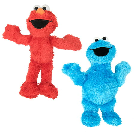 Sesame Street Plush Pals Elmo and Cookie Monster 8