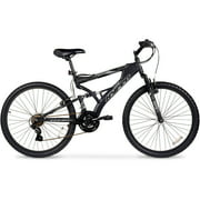 "26"" Hyper Havoc Full Suspension Men's Mountain Bike, Black"