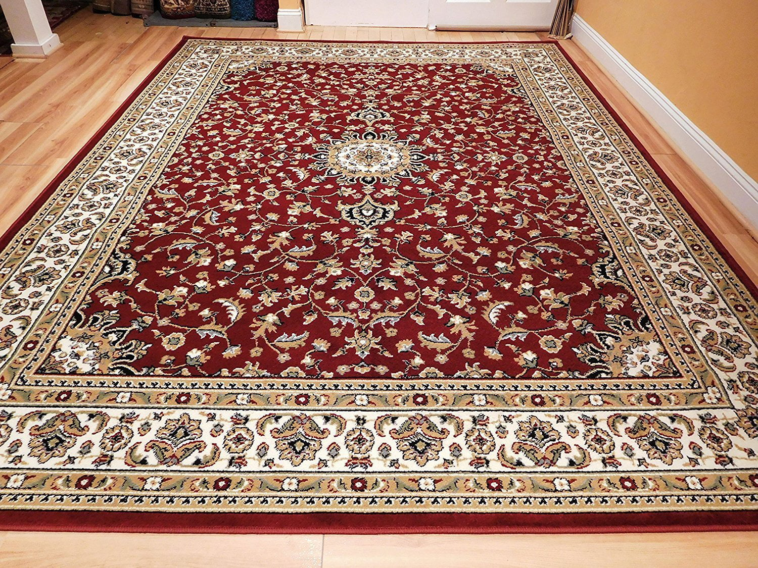 Ctemporary Area Rugs 5x7 Area Rugs5 by 7 Rug for Living Room Red ...
