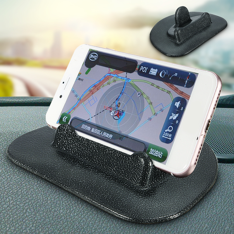 HOME-X Dashboard Cell Phone Mount with Sticky Rubber Grip Pad Universal Car Essentials