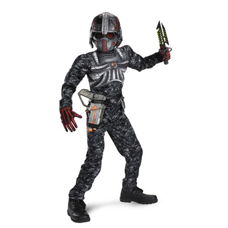 Boys Muscle Costume (Boys' Recon Commando Muscle)