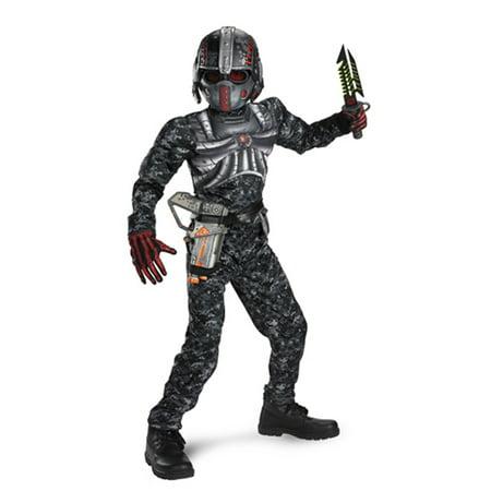 Boys' Recon Commando Muscle Costume