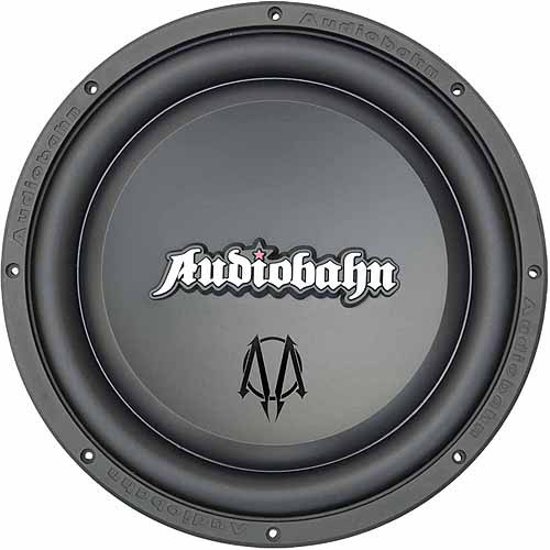 "Audiobahn 12"" Dual Subwoofer, 900W"