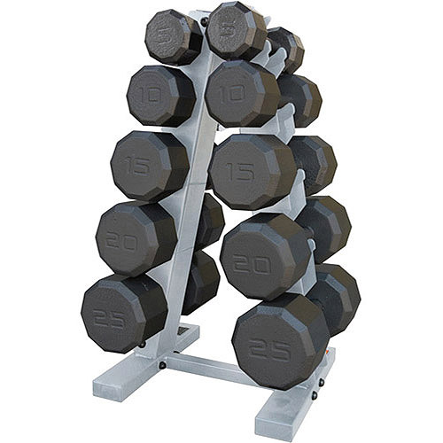 CAP Barbell 150-Pound Eco Dumbbell Weight Set with Rack