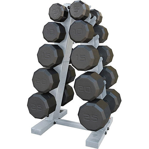 CAP Barbell 150-Pound Eco Dumbbell Weight Set with Rack by Cap Barbell