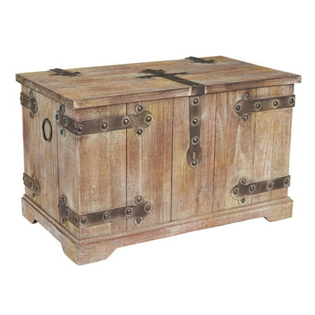 Household Essentials Large Victorian Trunk