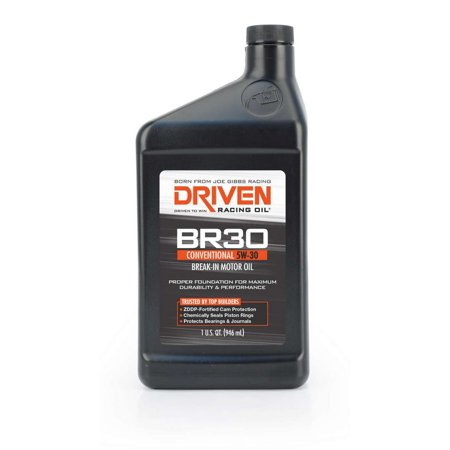 Driven Racing Oil BR30 Break-In 5W30 Motor Oil 1 qt P/N