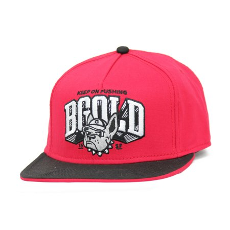 Benny Gold Bulldogs Keep On Pushing Snapback Hat