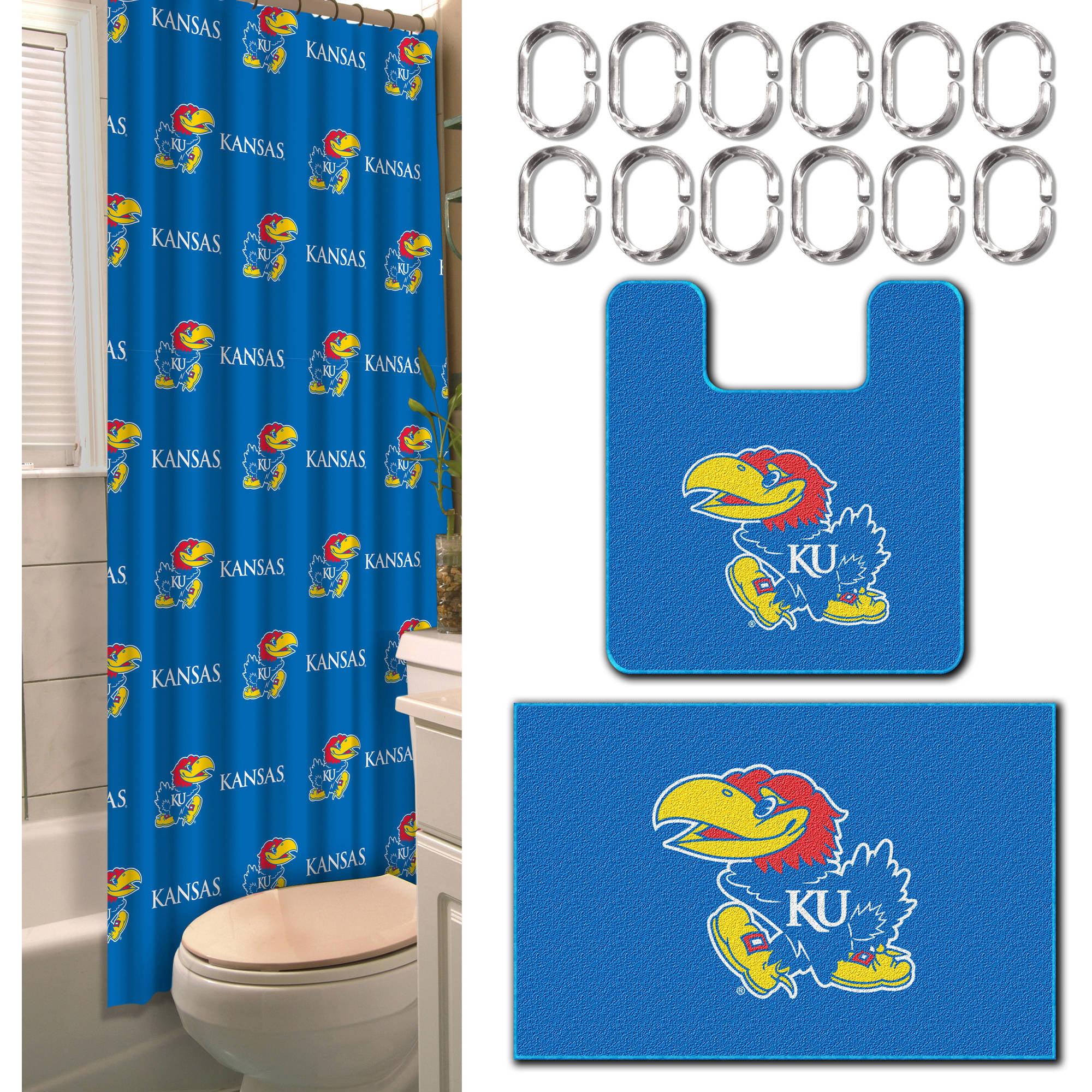 NCAA Kansas Jayhawks 15-Piece Bath Set