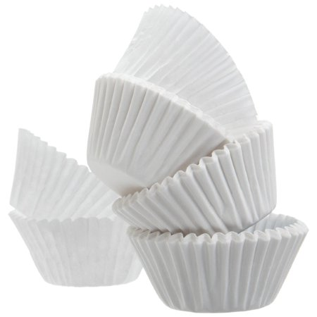 Standard Size White Cupcake Paper/Baking Cup/Cup Liners, Pack of - Rustic Cupcake Liners