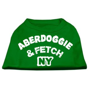 Aberdoggie NY Screenprint Shirts Emerald Green Sm (10)