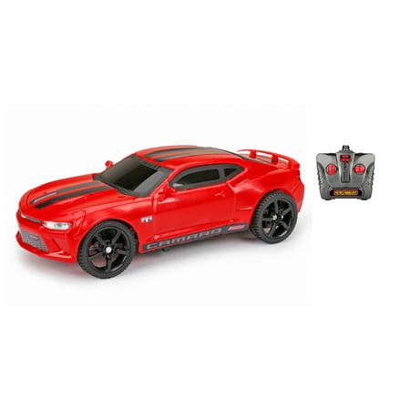 Camaro Nos - New Bright 1:24 Radio Control Camaro SS - Red