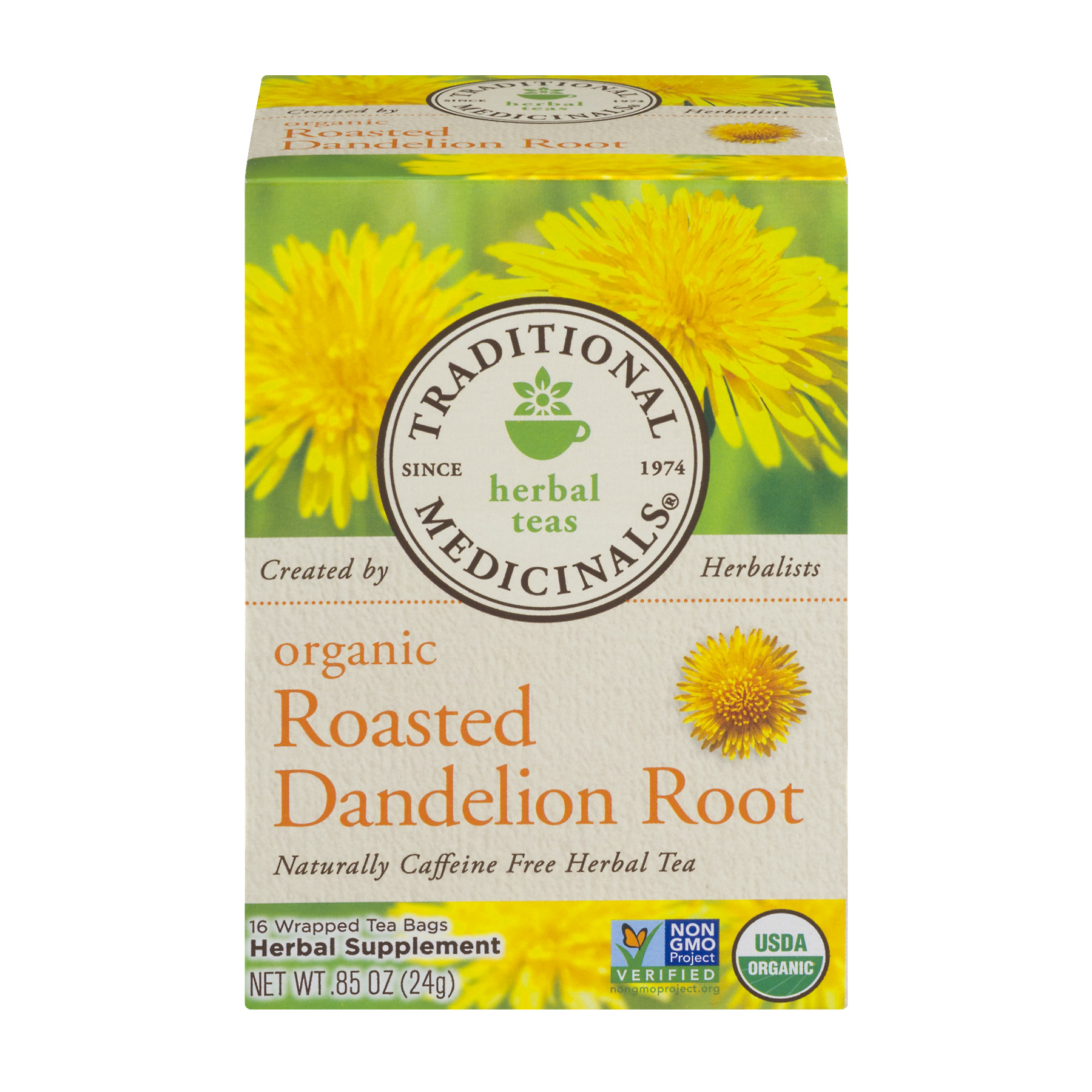 (6 Pack) TRADITIONAL MEDICINAL ROASTED DANDELION ROOT