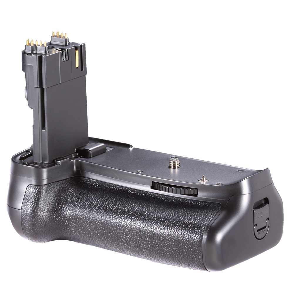 More!! Vertical Battery Grip Battery Grip Kit for Canon EOS 60D Digital SLR Camera Includes Qty 2 Replacement LP-E6 Batteries