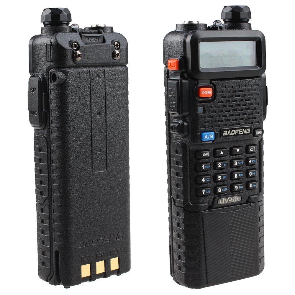 BestFace BAOFENG Dual Band UV5R Handheld Two Way Radio UH...
