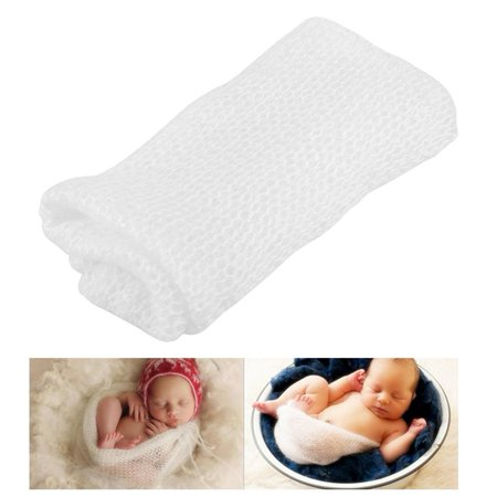Walfront Newborn Photography Photo Prop Baby Soft Wrap Infant