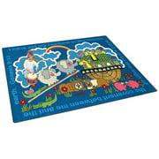 Joy Carpets Rainbows Promise Kids Area Rug