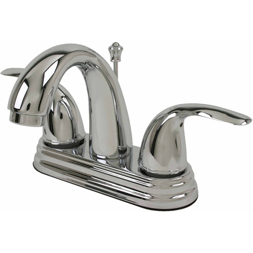 Ultra Faucets UF45010 2-Handle Chrome Lavatory Faucet with Pop-Up Drain