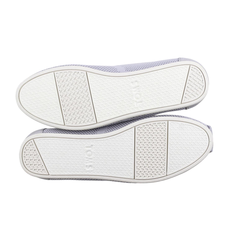 3d45980a00b TOMS - Toms Women s Classic Custom Knit Flats Drizzle Grey 6.5 B(M) US -  Walmart.com
