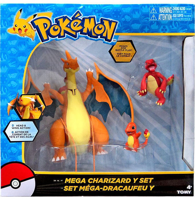 Pokemon Mega Charizard Y Figure Set by TOMY