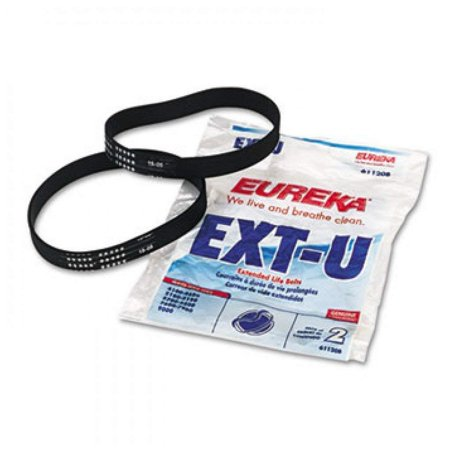 Replacement Belt for Maxima LiteWeight Upright & Sanitaire Vacuums, 2/PK, Designed to Fit Bravo II, WhirlWind LiteSpeed 5847, WhirlWind Litespeed 5844,.., By Eureka,USA