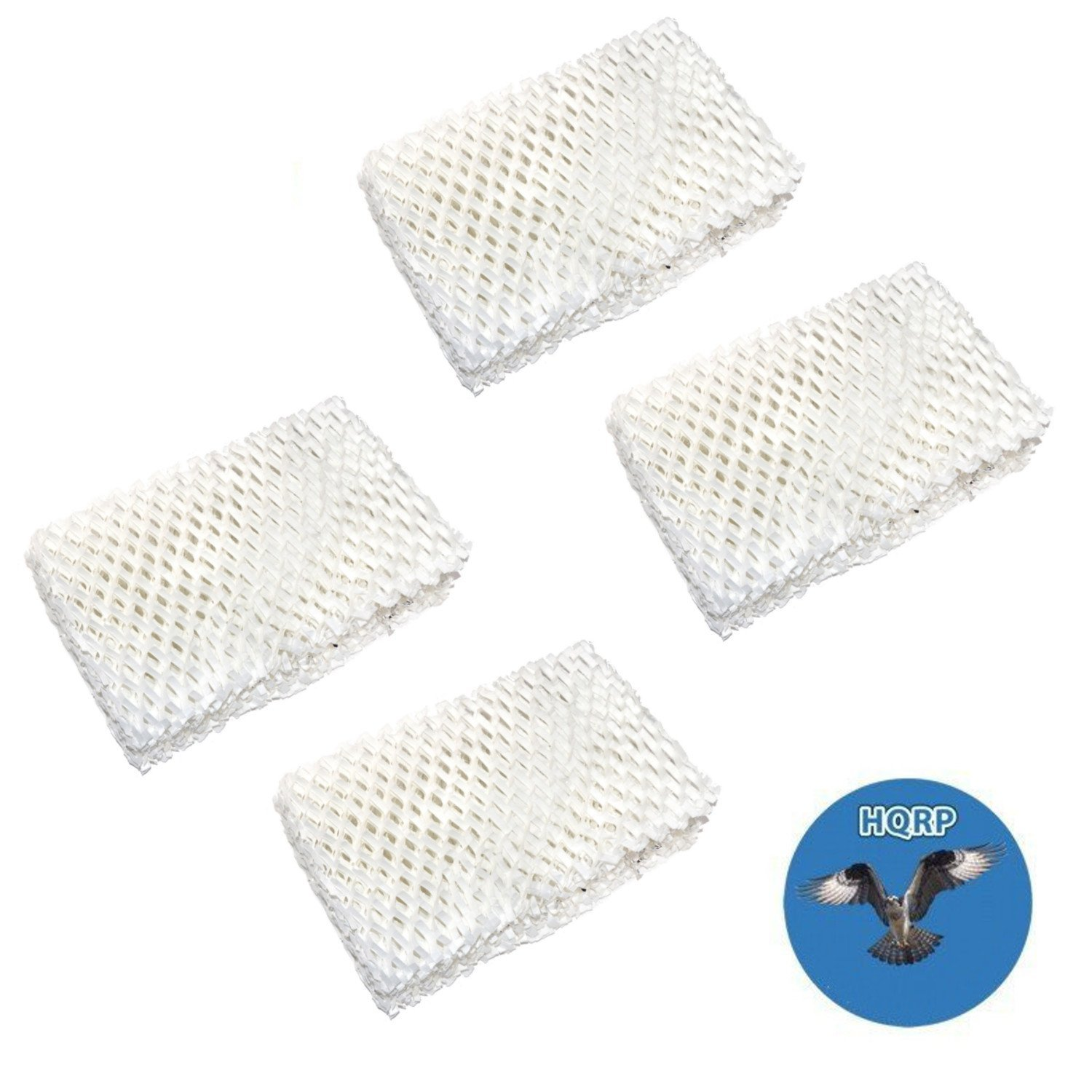 HQRP 4-pack Wick Filter for Kenmore 14413, 14416, 1442, 14407, 14451, 144070, 144071, 144130, 144131, 144510, 144160, 144161, 144162 Humidifier + HQRP Coaster