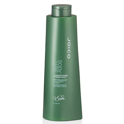 Joico Body Luxe Conditioner For Fullness & Volume No Pump 33.8 Oz Hair Products Body Luxe Thickening Conditioner