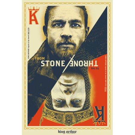 (11x17) King Arthur Legend Of The Sword Movie Mini Poster Decor