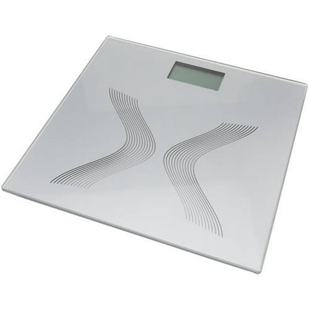 - Glass Electronic Personal Scale with 6mm Glass Platform