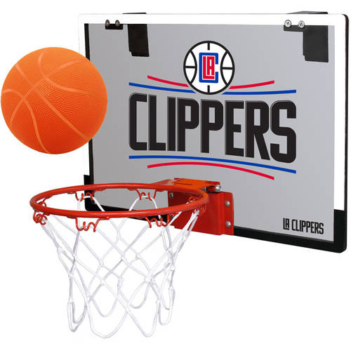 Rawlings NBA Game On Polycarb Hoop Set Los Angeles Clippers