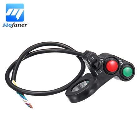Universal Electric Motorcycle Handlebar On Off handlebarcontrol Control Switch Turn Signal Light ATV Bike Bicycle Horn Indicator
