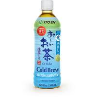 (12 Bottles) ITO EN Oi Ocha Cold Brew Matcha Green Tea, 16.9 Fluid Oz.