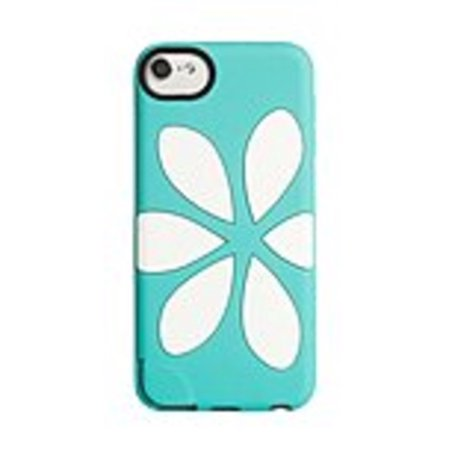 Image of Agent18 T5FV/TW FlowerVest iPod Touch 5th Gen - iPod - Turquoise/White FlowerVest - Silicone