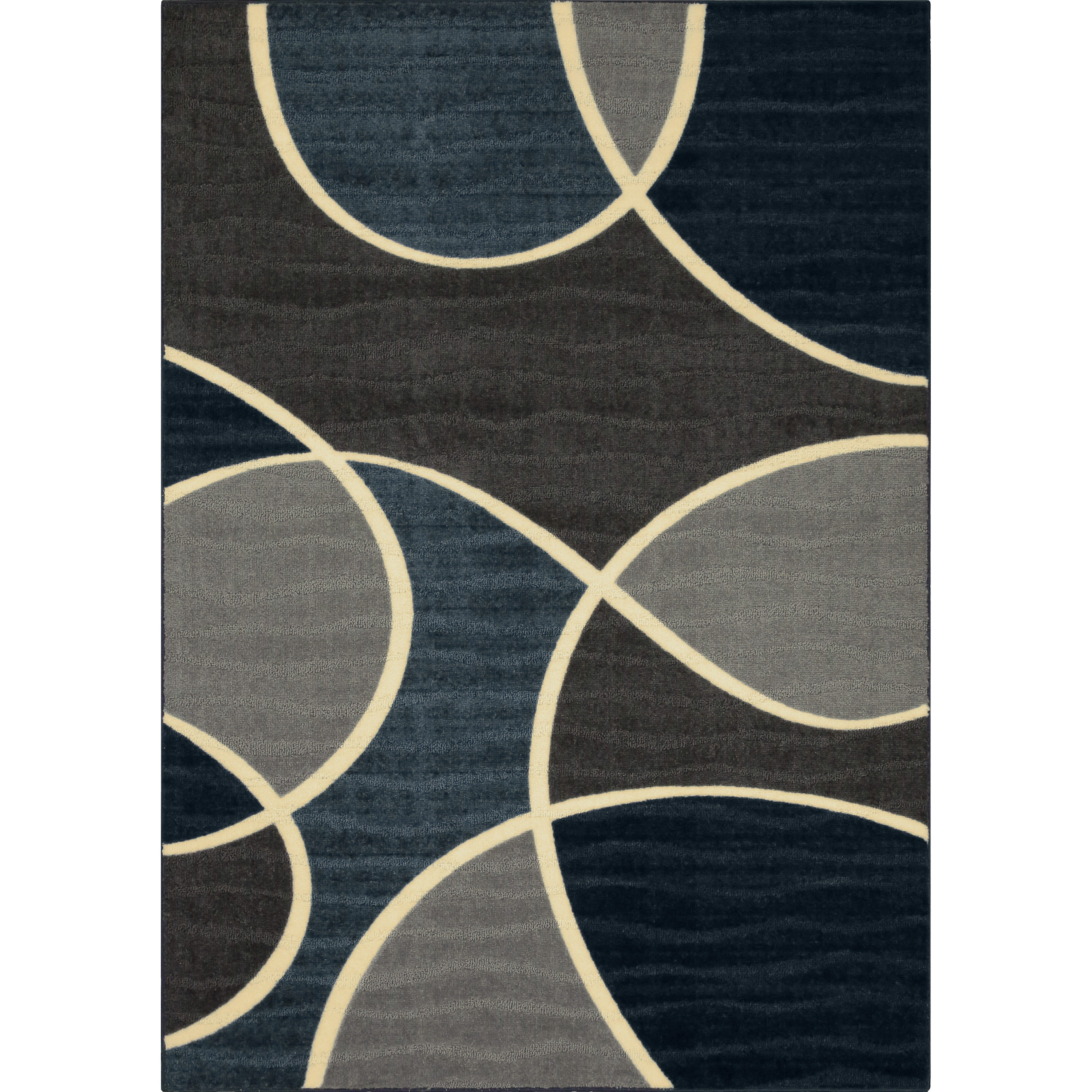 Better Homes & Gardens Geo Waves Textured Print Area Rug or Runner, Multiple Sizes and Colors by Maples Industries, Inc.