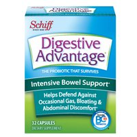 Digestive Advantage Intensive Bowel Support, Probiotic Digestive Enzyme Supplement, 32 Capsules