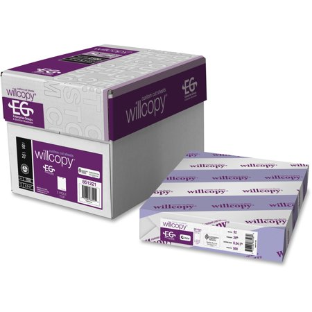 Willcopy, DMR851221, Domtar Custom Cut Top-Punched Sheets, 2500 / Carton,