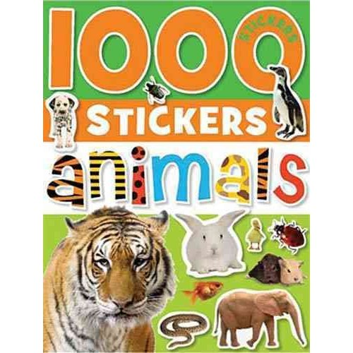 1000 Stickers - Animals