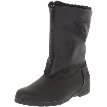 Totes Women's Staride Black Mid-Calf Synthetic Boot - 9M