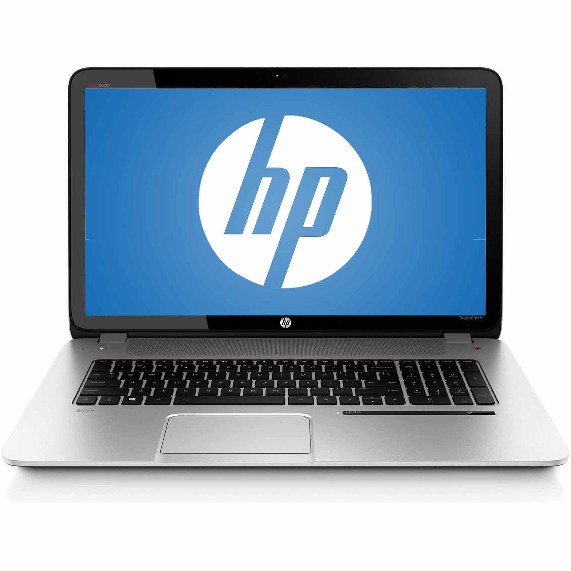 """HP Natural Silver 17.3"""" Envy 17-j160nr Leap Motion SE Laptop PC with Intel Core i5-4200M Processor, 8GB Memory, 1TB Hard Drive and Windows 8.1"""