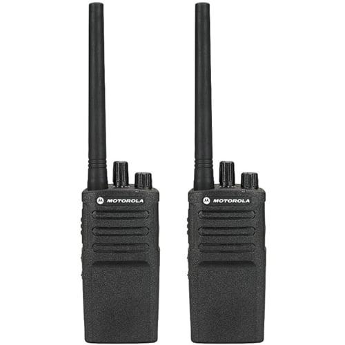 Motorola RMV2080 Two Way Radio Walkie Talkie (2 Pack) by MOTOROLA