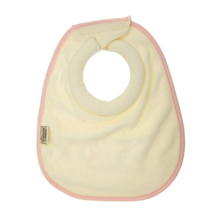 Tommee Tippee Closer to Nature Milk Feeding Bib, Pink, 2 Ct