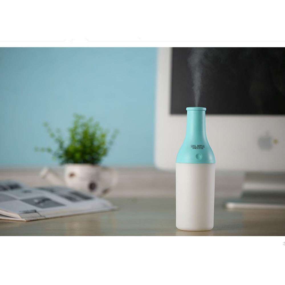 USB Portable Mini Wine Bottle Humidifier Air Diffuser Aroma Mist