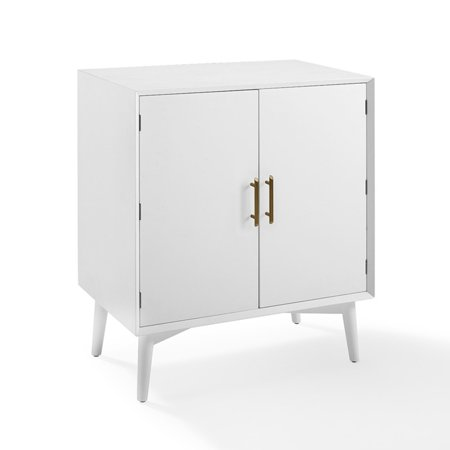 Crosley Furniture Landon Bar Cabinet In White ()
