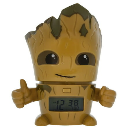 Bulbbotz Guardians Of The Galaxy Groot 5 5   Clock