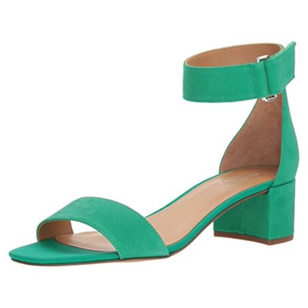 Franco Sarto Womens Hot - Franco Sarto Womens Rosalina Leather Open Toe Special Occasion Ankle Strap Sa...