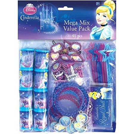 Party Favors - Cinderella - Value Pack - 48pc Set (Cinderella Birthday Party Ideas)