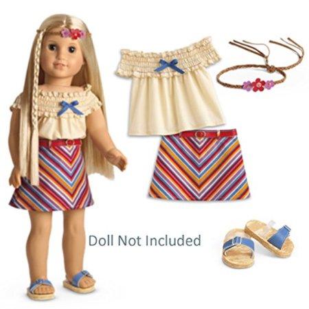 - American Girl Julie's Summer Skirt Set for 18