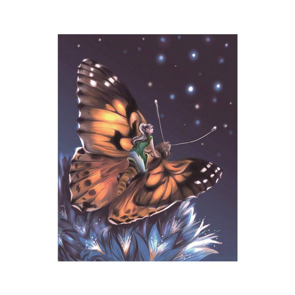 5D DIY Diamond Round Resin Rhinestones Embroidery Needlework Picture Butterfly Home Painting Cross Stitch